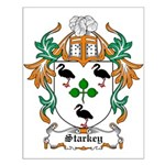Starkey Coat of Arms Small Poster