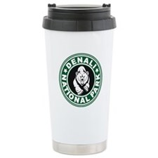 Denali Green Circle Travel Mug