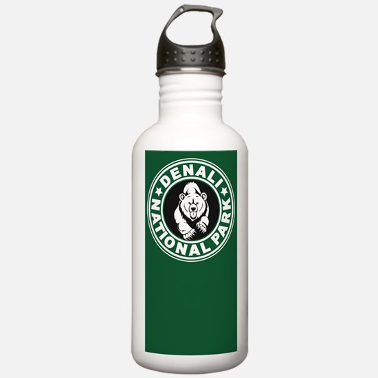 Denali Green Circle Water Bottle