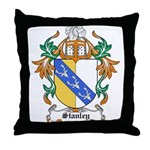 Stanley Coat of Arms Throw Pillow