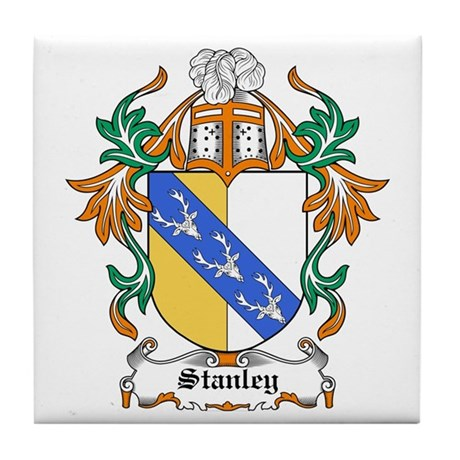 Stanley Coat of Arms Tile Coaster