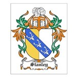 Stanley Coat of Arms Small Poster