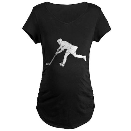 Hockey Maternity Dark T-Shirt