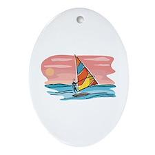 Sailing Ornament (Oval)