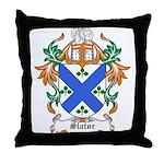 Slator Coat of Arms Throw Pillow