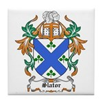 Slator Coat of Arms Tile Coaster
