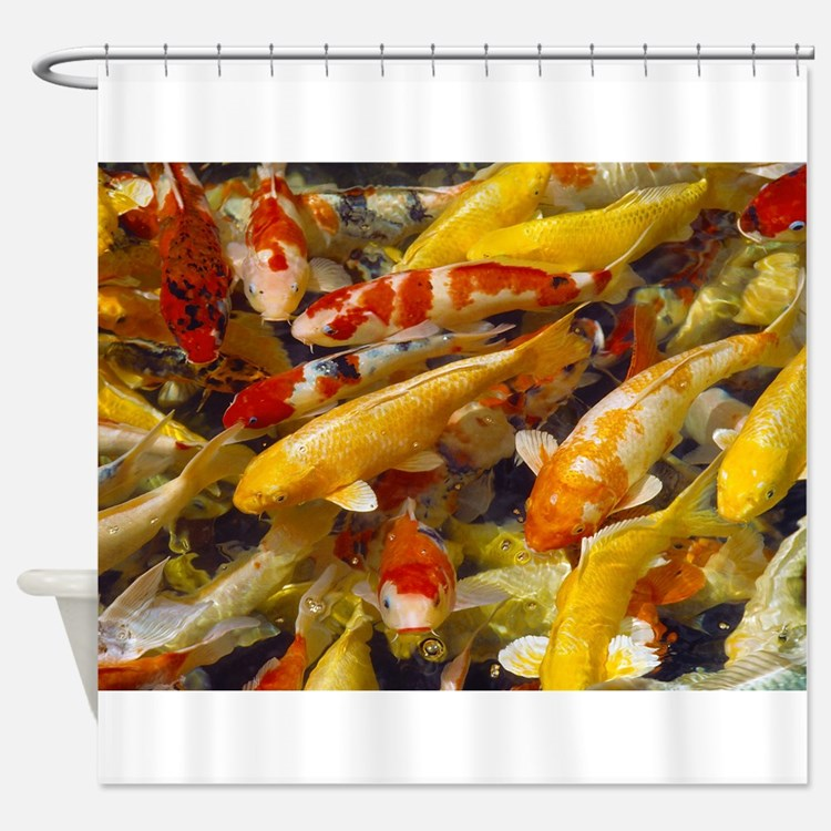 Ornamental fish bathroom accessories decor cafepress for Ornamental fish pond filters