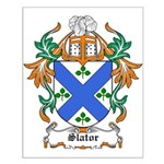 Slator Coat of Arms Small Poster