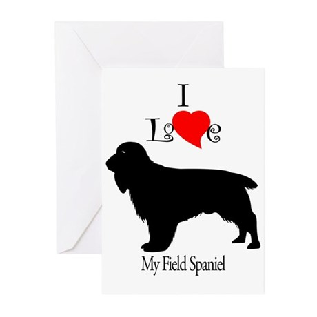 Field Spaniel Greeting Cards (Pk of 10)