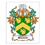 Skerett Coat of Arms Small Poster