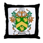 Skereth Coat of Arms Throw Pillow
