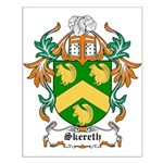 Skereth Coat of Arms Small Poster