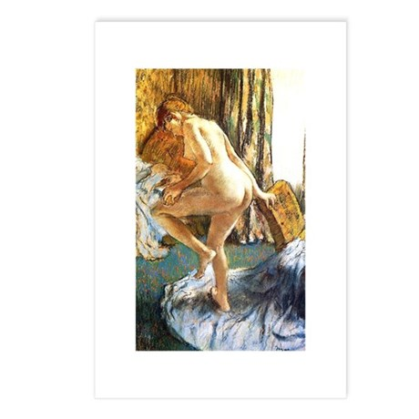 Degas - After the Bath - Postcards (Package of 8)