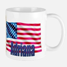 Adriana Personalized USA Flag Mug
