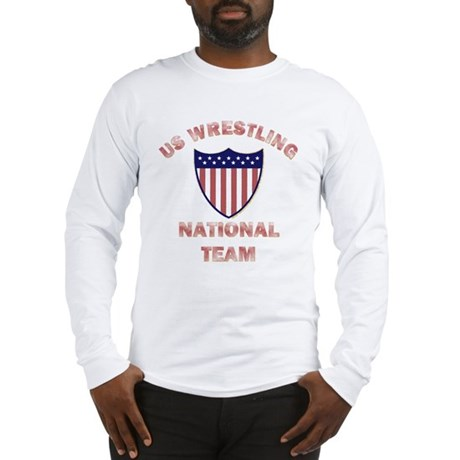 U.S. WRESTLING NATIONAL TEAM (light) Long Sleeve T