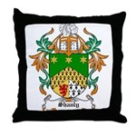 Shanly Coat of Arms Throw Pillow