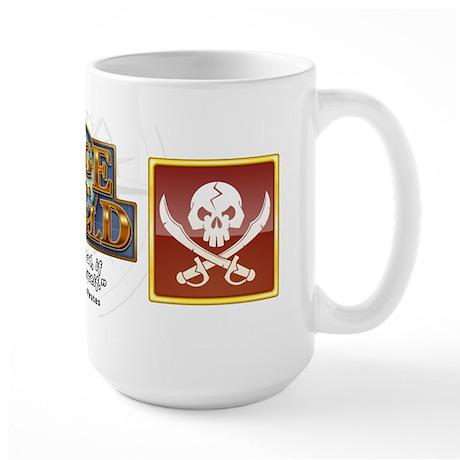 Edge of the World Pirates Class Large Mug