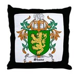 Shane Coat of Arms Throw Pillow