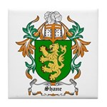 Shane Coat of Arms Tile Coaster