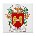 Seymour Coat of Arms Tile Coaster