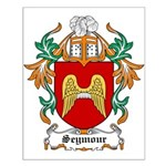 Seymour Coat of Arms Small Poster