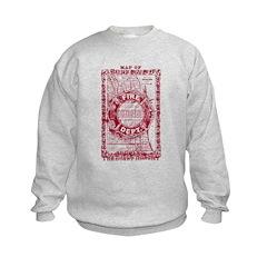 Chicago-25-RED.png Sweatshirt