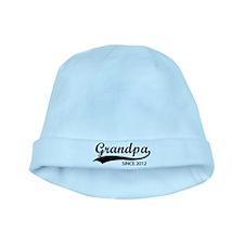 Grandpa since 2012 baby hat