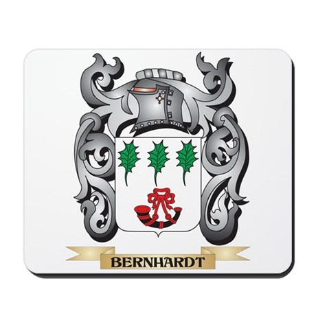 Bernhardt Family Crest - Bernhardt Coat Mousepad