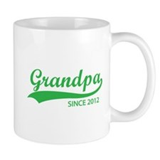 Grandpa since 2012 Mug
