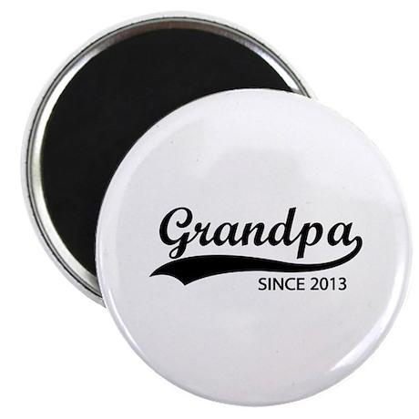 Grandpa since 2013 Magnet