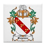 Segrave Coat of Arms Tile Coaster