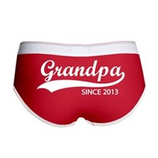 Grandpa since 2013 Women's Boy Brief