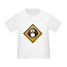 Penguin Warning Sign T