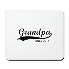 Grandpa since 2014 Mousepad