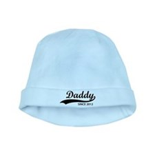 Daddy since 2012 baby hat