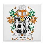 Sammon Coat of Arms Tile Coaster