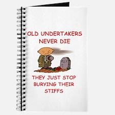 undertaker joke Journal