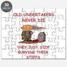 undertaker joke Puzzle