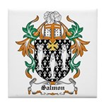 Salmon Coat of Arms Tile Coaster