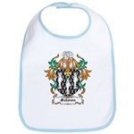 Salmon Coat of Arms Bib