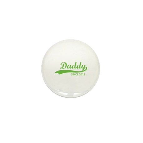 Daddy since 2012 Mini Button (10 pack)