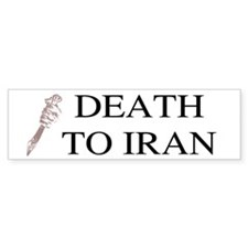 Death To Iran Bumper Bumper Sticker