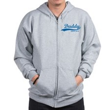 Daddy since 2014 Zip Hoodie