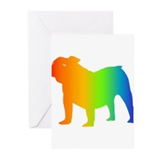 Old English Bulldog Greeting Cards (Pk of 10)
