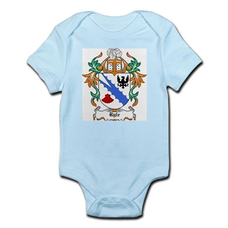 Ryle Coat of Arms Infant Creeper