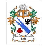 Ryle Coat of Arms Small Poster