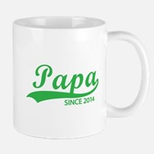Papa since 2014 Mug