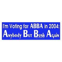 ABBA in 2004 Bumper Bumper Sticker