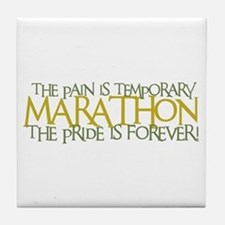 Marathon- The Pride is Forever Tile Coaster