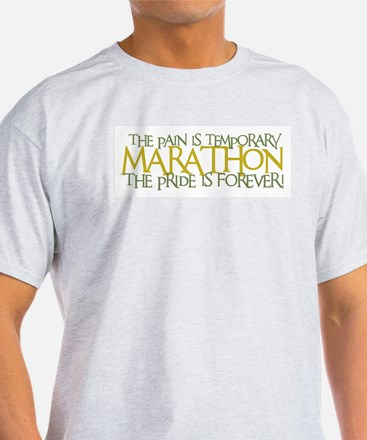 Marathon- The Pride is Forever Ash Grey T-Shirt
